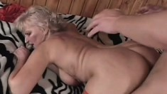 Fantastic granny can still ride a monumental cock all night long
