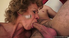 Mature babe can be so insatiable sometimes and extremely horny