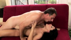 Pretty Teen With A Sublime Ass Has An Old Man Banging Her Aching Cunt