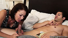 Vanessa Videl decides to wake up her new tenant for breakfast