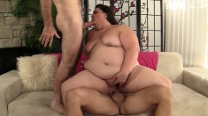 Chubby Housewife Bella Gets Double Stuffed And Screams With Pleasure