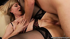 With Nina Hartley you understand that talent isn't something you loose while aging