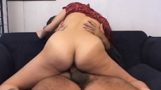 Hot Indian lady with lovely tits has a fiery twat needing to be fucked