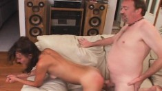 Sexy Aleena gets drilled by a hung stud to please her horny husband