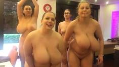 Big Boobs Lesbians On Group Sex