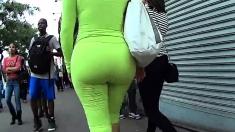 Juicy Fat Ass In Spandex