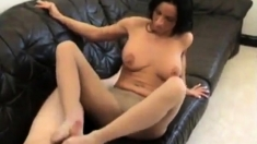 Homemade Sex Videos Wife In Crotchless Pantyhose Fucking