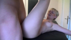 Blonde gets another Massage