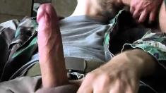 two big dick amateurs sucking stroking and cumming