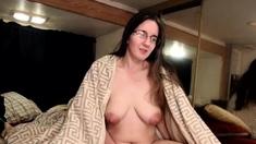 Big boob titfuck with big nipples