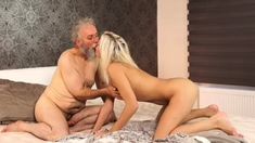 Old Grandma Fucked Hard Surprise Your Girlcrony And She
