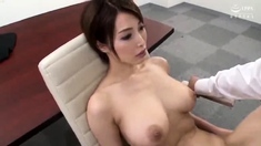 Hot And Raunchy Fetish Scene With Japanese Babe