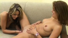 Hot And Horny Lesbians Monique And Marlena